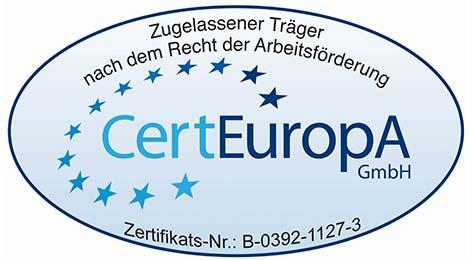 Zertifikat CertEuropA